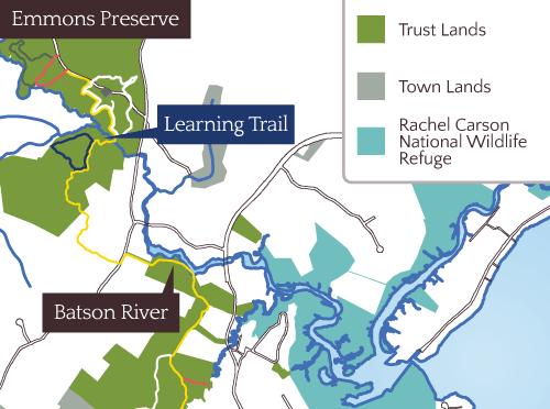 Batson River Map